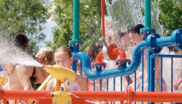 splashing zone