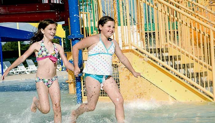Running In Splash Zone